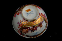 P045I - MEISSEN PART TEA AND COFFEE-SERVICE