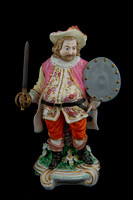 P016 - DERBY FIGURE OF FALSTAFF
