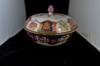 P166 - MEISSEN BOWL AND COVER