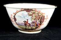 P058 - A MEISSEN WASTE BOWL