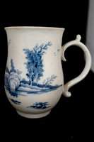 P138 - LIVERPOOL (RICHARD CHAFFERS & CO.) BLUE AND WHITE MUG