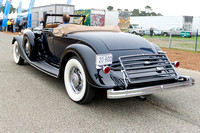 C1-09 1933 Lincoln KB LeBarron Convertible Roadster