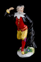 P105 - MEISSEN FIGURE OF PANTALONE FROM THE DUKE OF WEISSENFELS SERIES